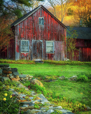 Photograph - Winegars Barn  by John Vose