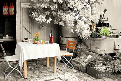 Photograph - Winelover's Place by Gabriele Pomykaj