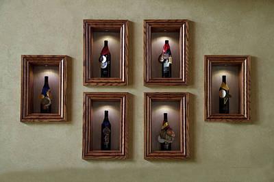Wine Barrel Mixed Media - Winery Anyela's Vineyard Skaneateles New York Awards by Thomas Woolworth