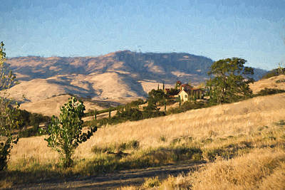 Winetasting Photograph - Winery At Ashland Oregon by Kenneth Roberts