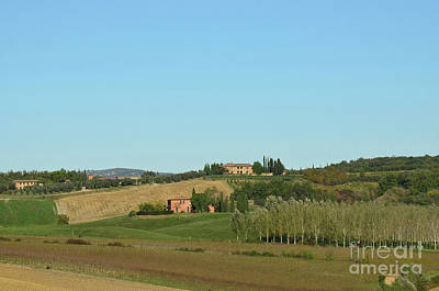 Winery In Tuscany Italy Art Print by DejaVu Designs