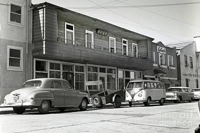 Photograph -  Wing Chong Building, And Kalisa Was Next Door Circa 1958 by California Views Mr Pat Hathaway Archives