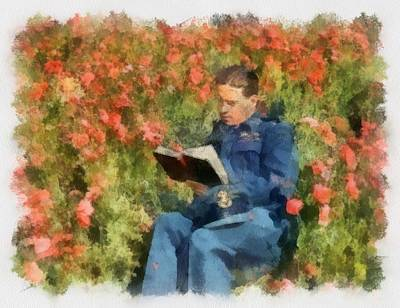 Airforce Painting - Wing Commander Guy Gibson 617 Squadron Dambusters 1943 Wwii by Esoterica Art Agency
