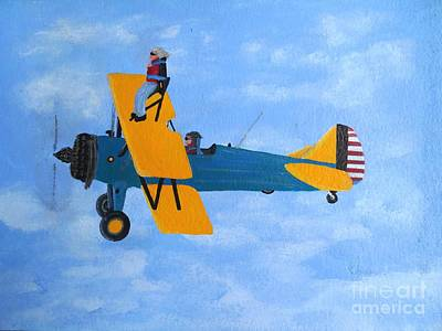 Painting - Wing Walker by Karen Jane Jones