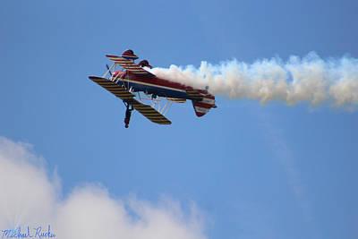 Photograph - Wing Walker Aerobatics by Michael Rucker