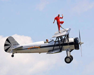 Photograph - Wing Walker by Alan Raasch