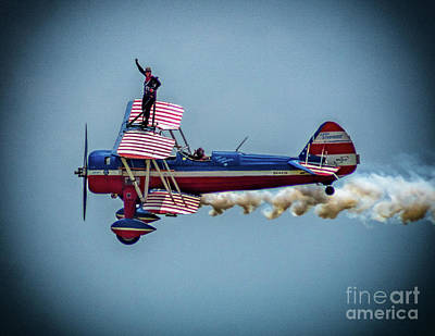Photograph - Wing Walker by Nick Zelinsky