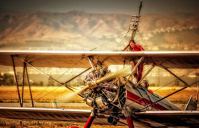 Photograph - Wing Walker by Steve Benefiel