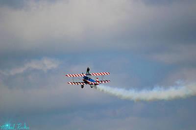 Photograph - Wing Walking Aerobatics by Michael Rucker