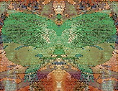 Digital Art - Winged 5 by Lynda Lehmann