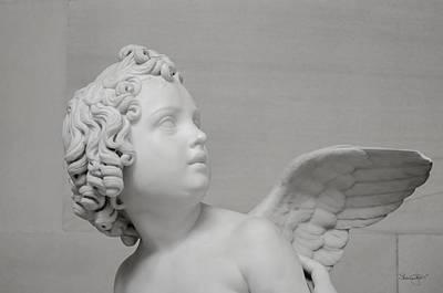 Photograph - Winged Cherub by Shanna Hyatt