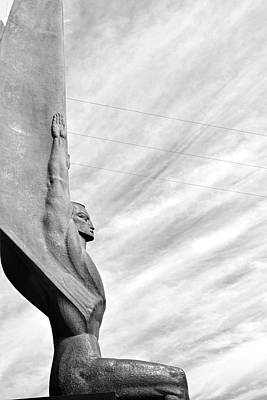 Photograph - Winged Figure Of The Republic No. 1-1 by Sandy Taylor