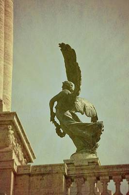 Photograph - Roman Winged Victories  by JAMART Photography