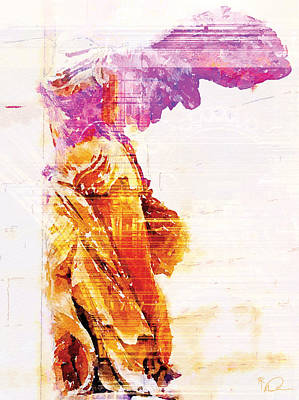 Winged Victory Art Print by David Derr