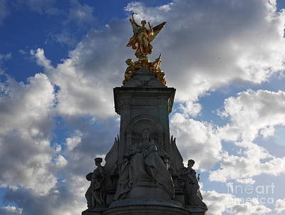 Photograph - Winged Victory London by Lexa Harpell