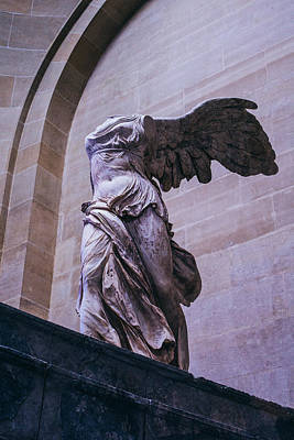 Winged Victory Of Samothrace Art Print by Pati Photography