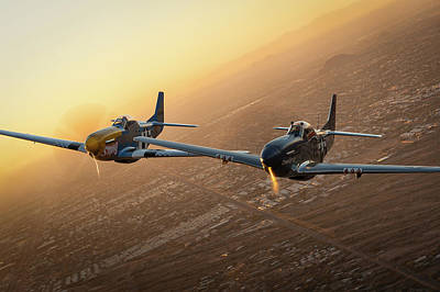 Photograph - Wingmen by Jay Beckman