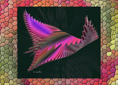 Digital Art - Wings 3 by Iris Gelbart