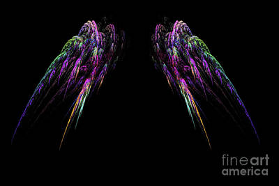 Digital Art - Wings by Geraldine DeBoer