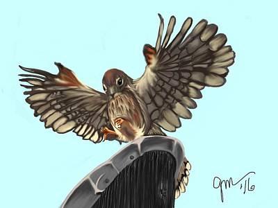 Digital Art - Wings. II by Gerry Morgan