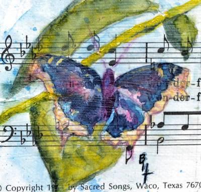 Wings Iv Original by Beverley Harper Tinsley