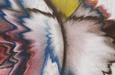 Mixed Media - Wings Of A Believer by Isaac Khonjelwayo
