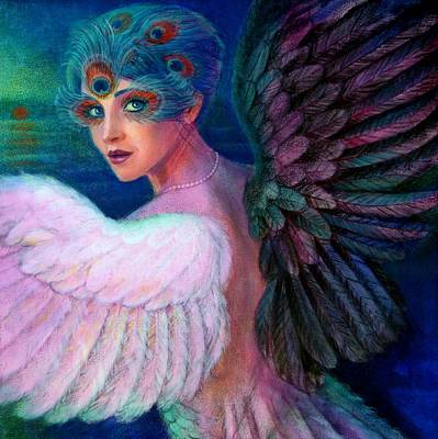 Wings Of Duality Print by Sue Halstenberg