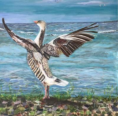 Painting - Wings Of Freedom by Gita Vasa