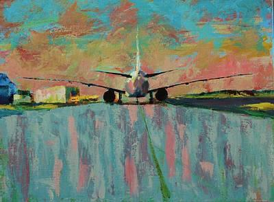 Painting - Wingspan  by Angel Reyes