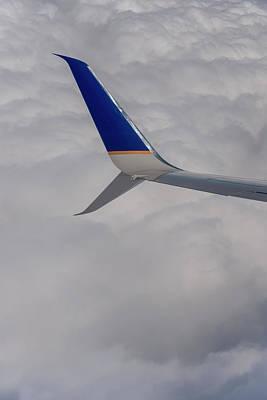 Photograph - Wingtip At 35000 by Robert Potts