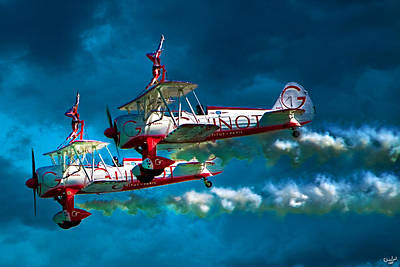 Photograph - Wingwalkers by Chris Lord