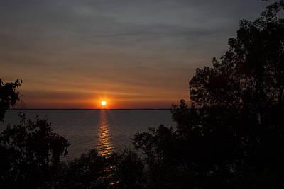 Photograph - Winnebago Sunset by CA  Johnson