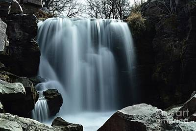 Photograph - Winnewissa Falls by Larry Ricker