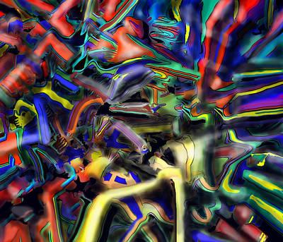 Digital Art - Winning Bottom Left by Ian  MacDonald