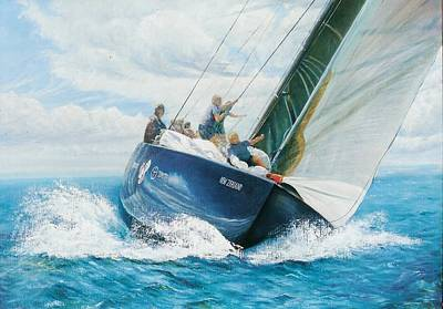 Painting - Winning Breeze by Peter Jean Caley