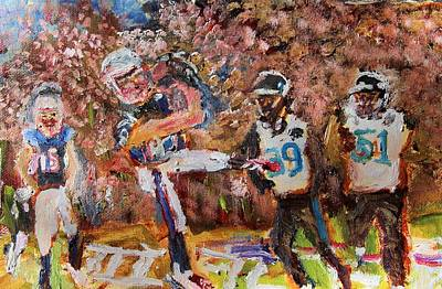 Painting - Winning Catch by Michael Helfen