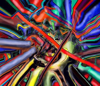 Digital Art - Winning Centre Right by Ian  MacDonald