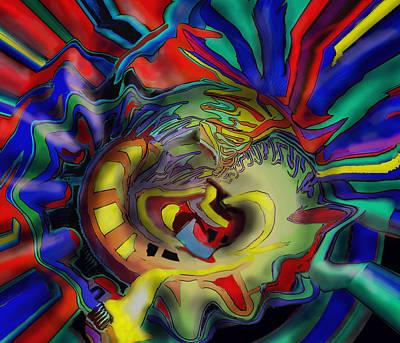 Digital Art - Winning Top Left by Ian  MacDonald