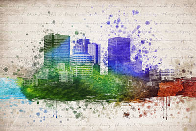 Winnipeg Digital Art - Winnipeg In Color by Aged Pixel