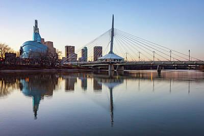 Photograph - Winnipeg Reflections by Steve Boyko
