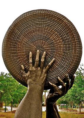 Photograph - Winnowing Hands 4 by Jean Wright