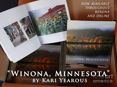 Photograph - Winona Minnesota Photo Book By Kari Yearous Informational Listing by Kari Yearous