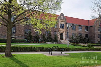 Photograph - Winona State University Photo Phelps by Kari Yearous