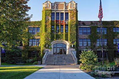 Photograph - Winona State University Somsen Hall Photo by Kari Yearous