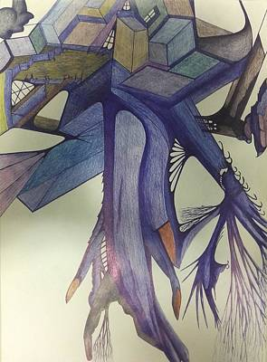 Drawing - Winp by Giuseppe Epifani