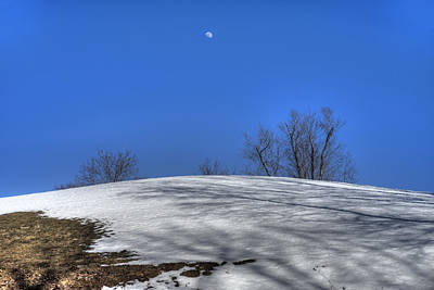 Photograph - Winslow Moonrise by Patrick Groleau