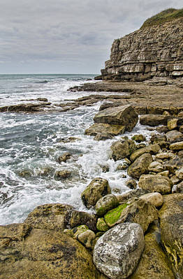 Winspit Cove In Dorset Art Print