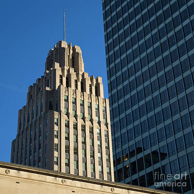 Photograph - Winston Skyscrapers by Patrick M Lynch