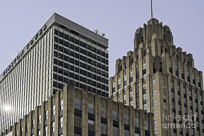 Photograph - Winston Tower And Reynolds Building by Patrick M Lynch