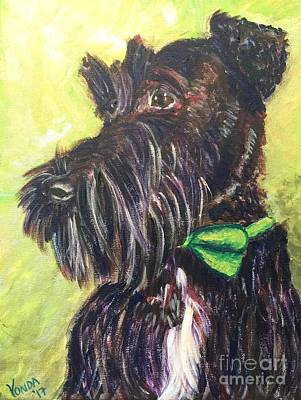 Painting - Winston by Vonda Lawson-Rosa